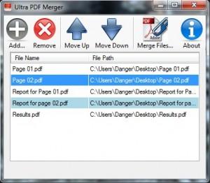 UltraPDFMerger Files
