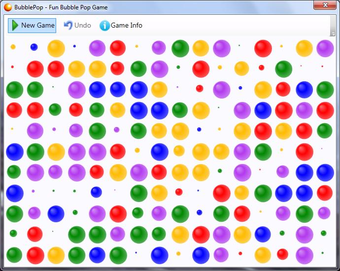 BubblePop screenshot